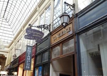 Versteckte Passage Paris