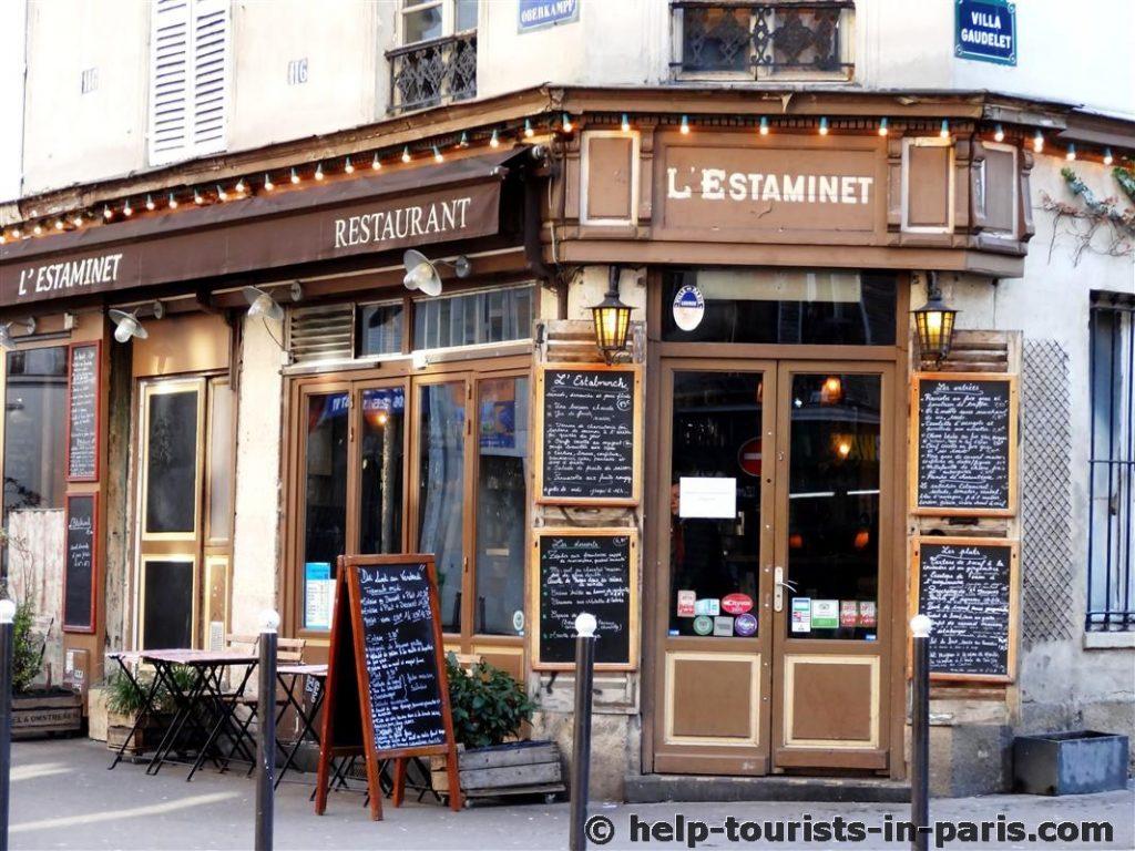 Restaurants in Paris