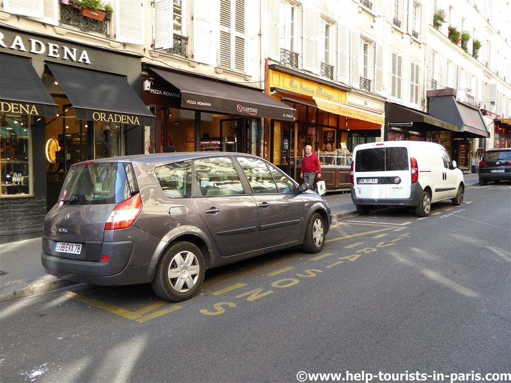 Lieferzonen Paris Parken
