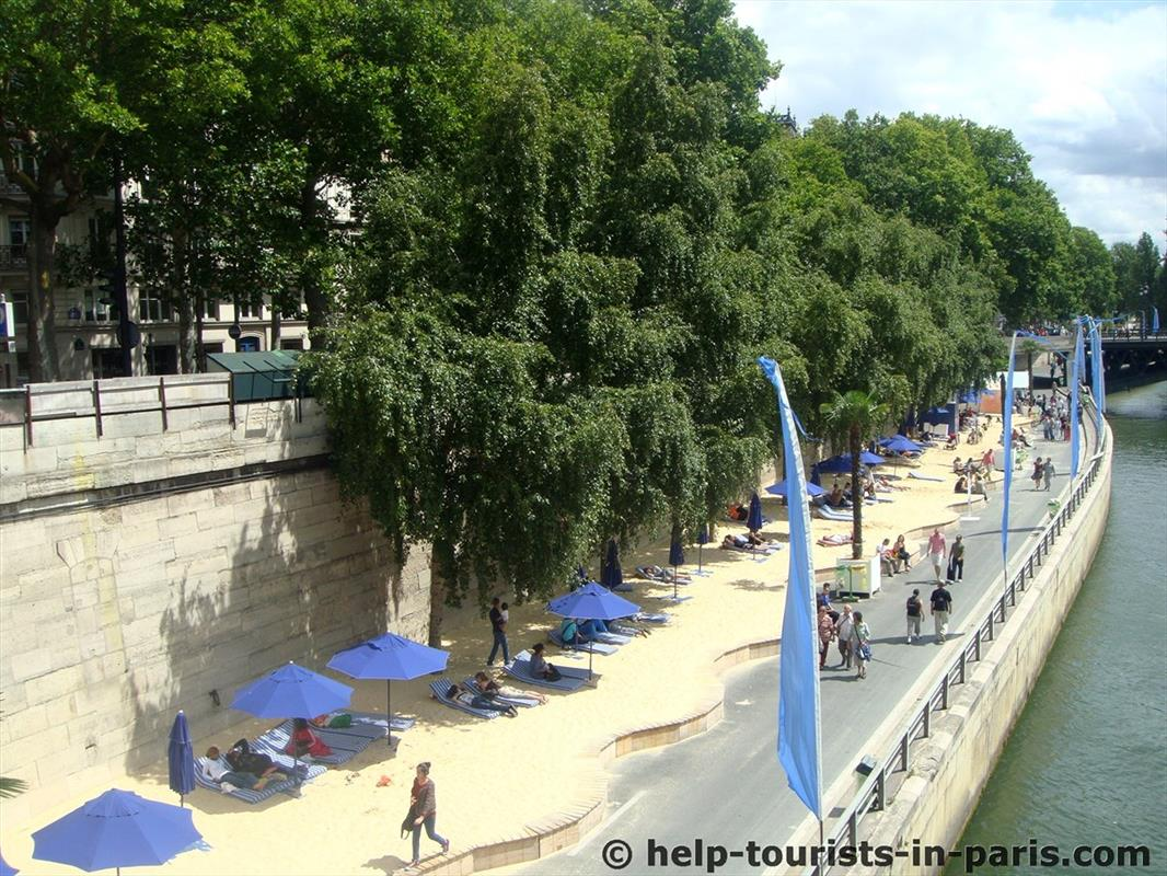 Paris Plages in Paris