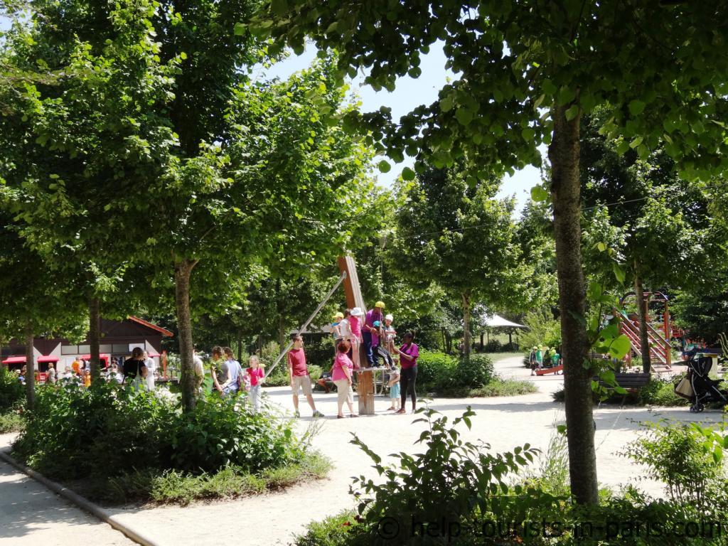 Aktivitäten für Kinder im Parc Floral