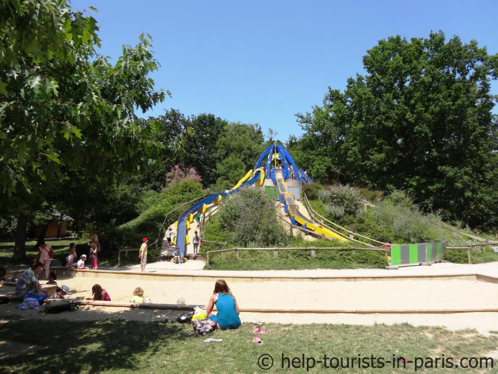 Spielplatz im Parc Floral