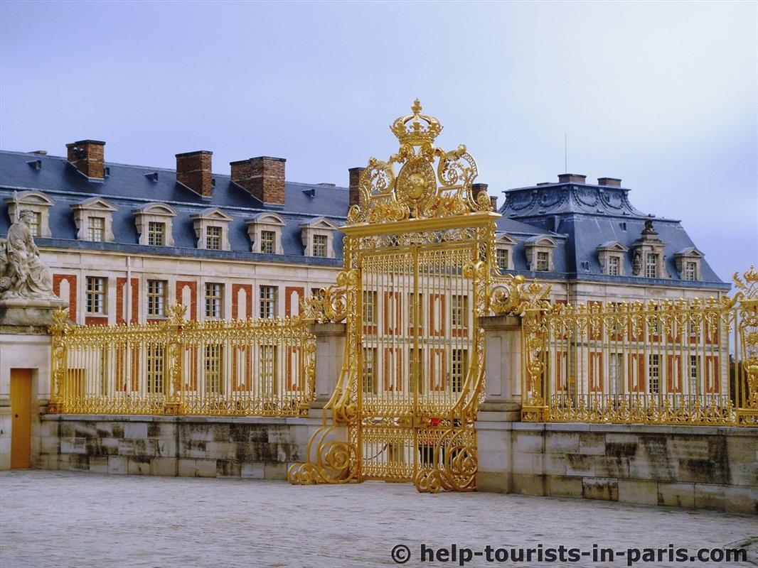 Eingang zum Schloss von Versailles