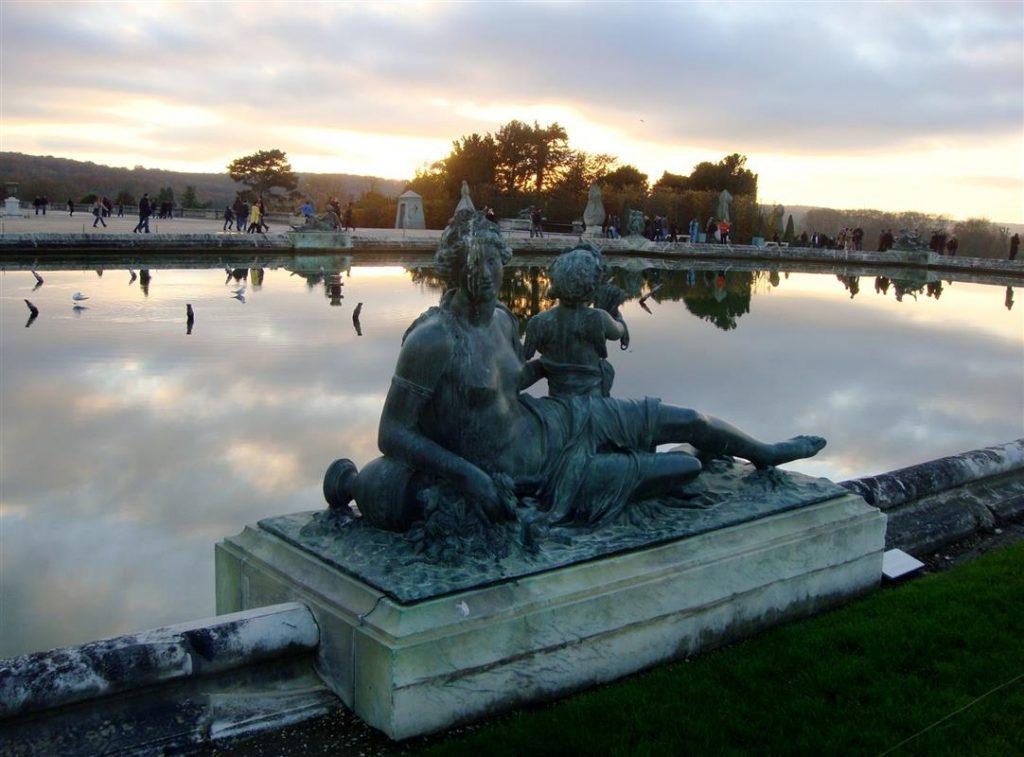 Besuch im Schloss von Versailles