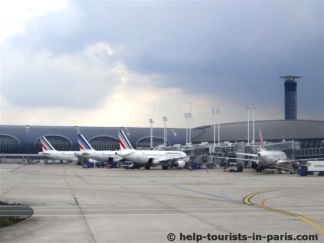 Anreise mit dem Flugzeug nach Paris