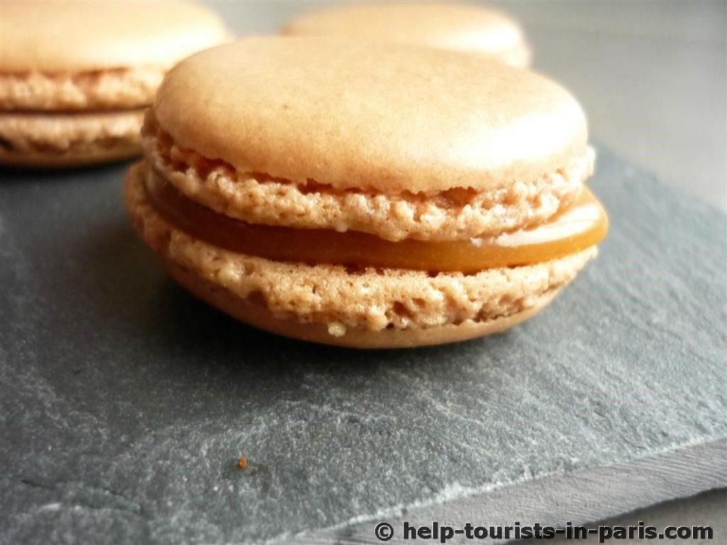 Macaron au caramel au beurre salé