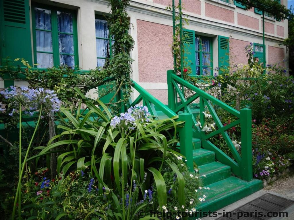 Teilansicht Haus von Monet