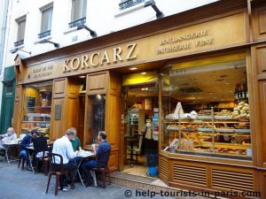 Bäckerei Korcarz im Marais
