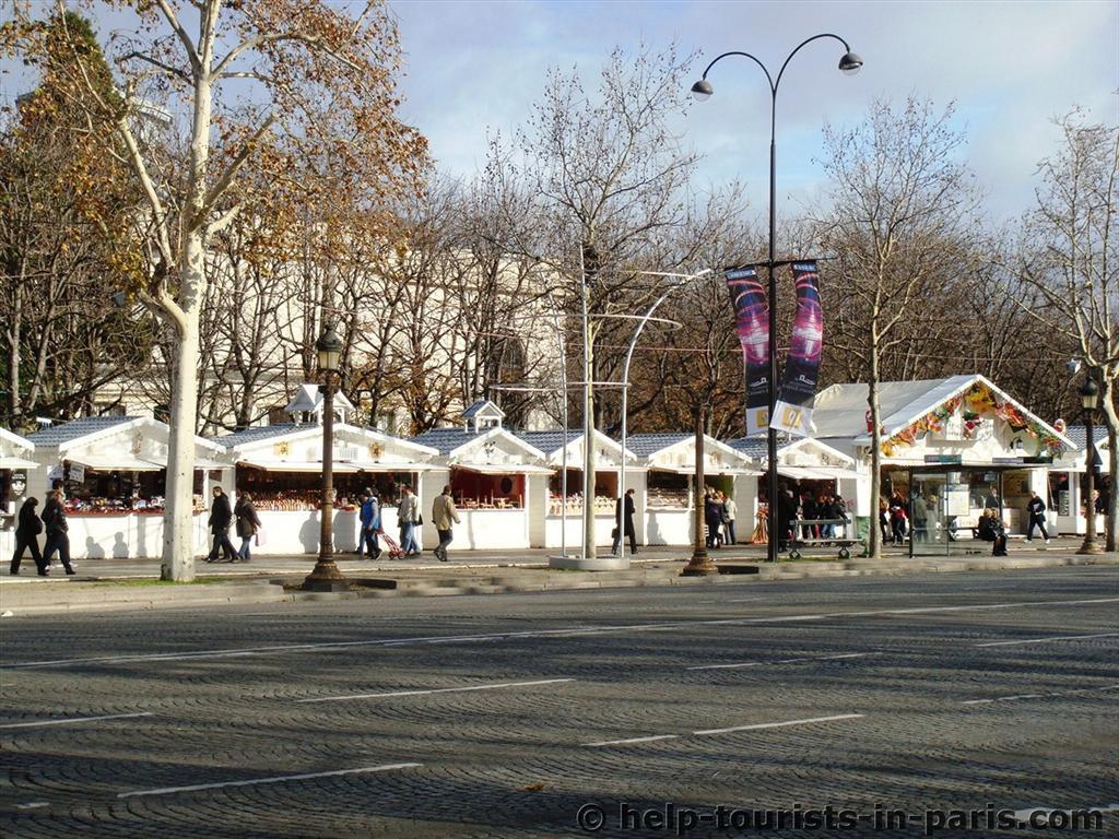 Weihnachtsmarkt Champs-Elysées