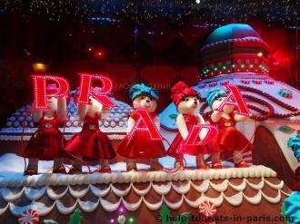 Weihnachtsdeko Kaufhaus Paris