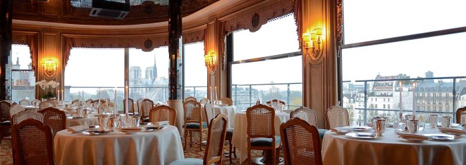 Fünf Restaurants mit Aussicht in Paris