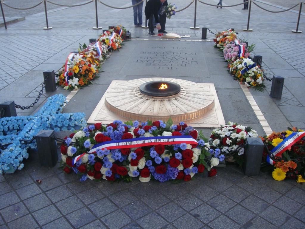 Kranzniederlegung Arc de Triomphe