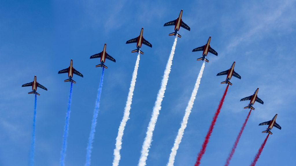 Französischer Nationalfeiertag in Paris