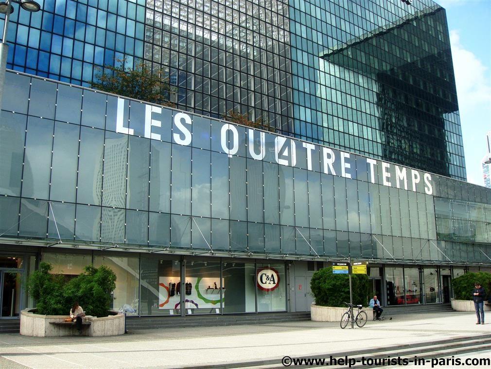 Einkaufszentrum Les Quatre Temps in La Défense