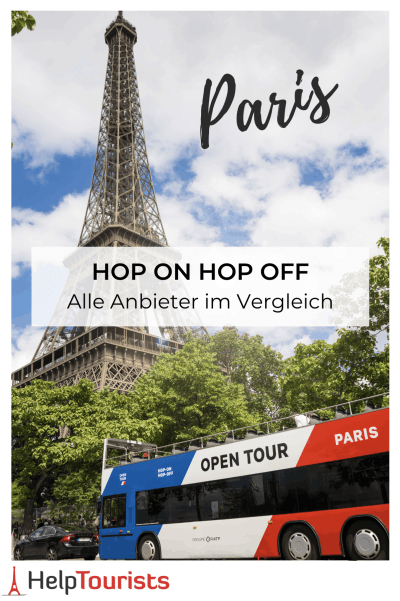 Hop on hop off Paris Tickets