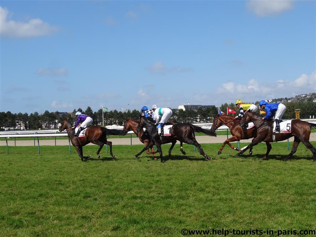 Pferderennen in Deauville