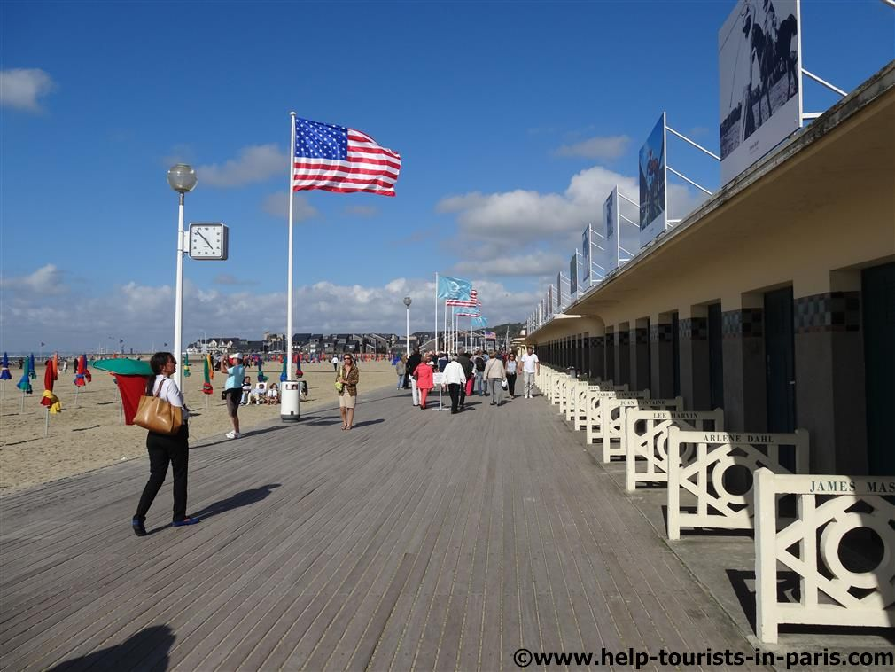 Les Planches in Deauville