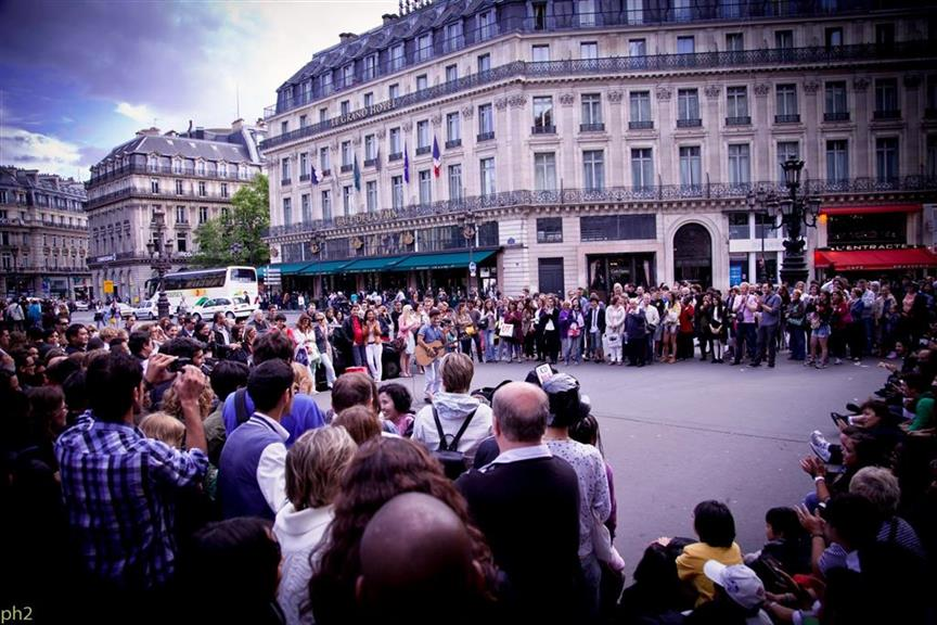 Youri Menna Musiker in Paris
