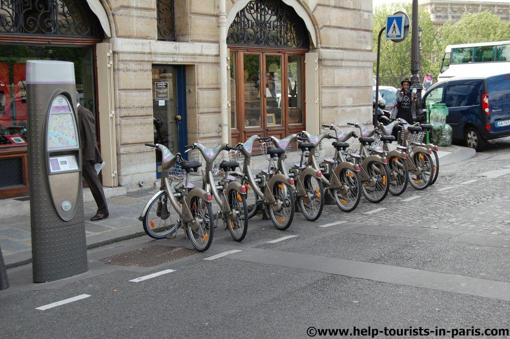 Velibfahrrad Paris