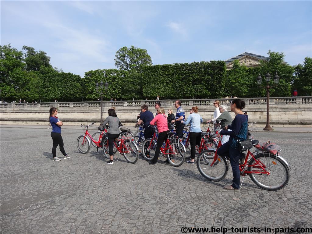 Fahrradtour durch Paris