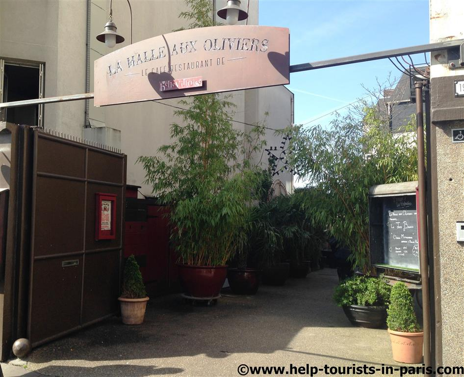 Brunchen in La Bellevilloise in Paris