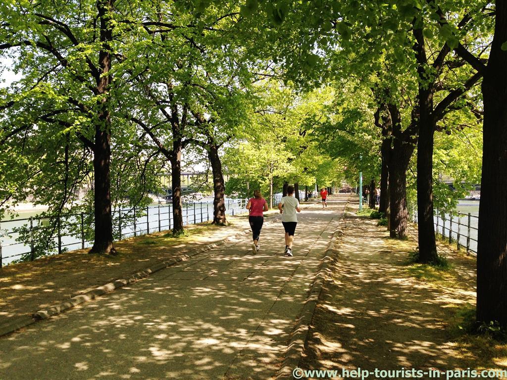 Joggen in Paris