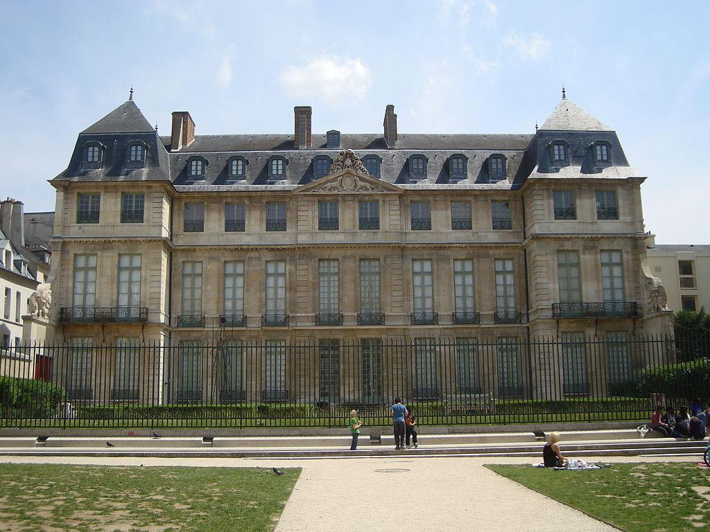 Hôtel Salé in Paris mit Picasso Museum