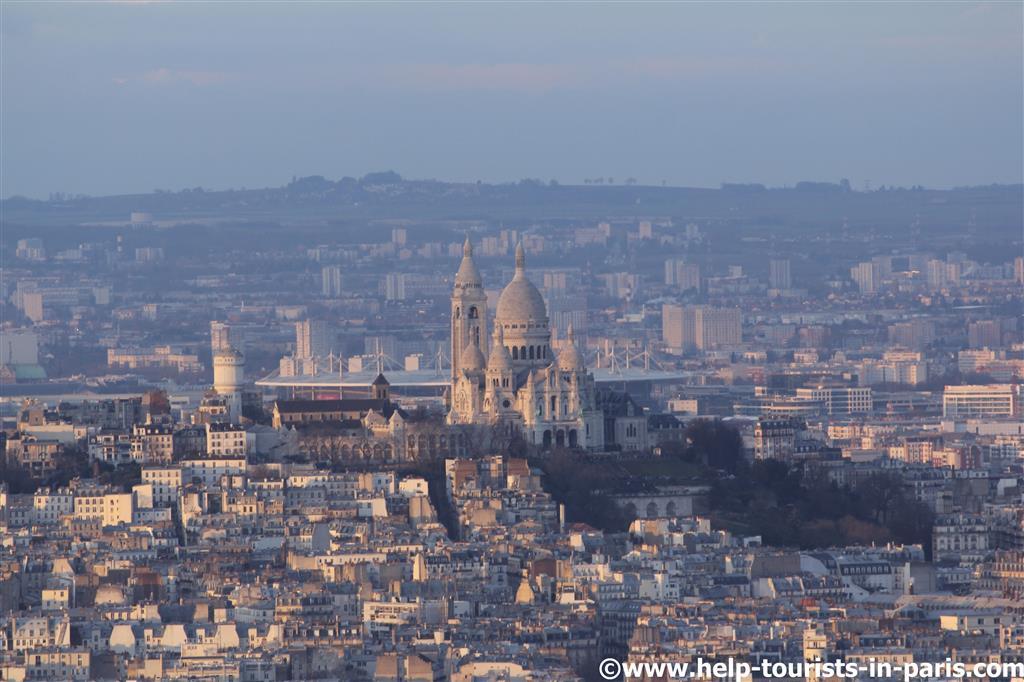 Blick auf Sacré Coeur