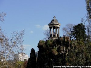 Park Buttes Chaumont in Paris