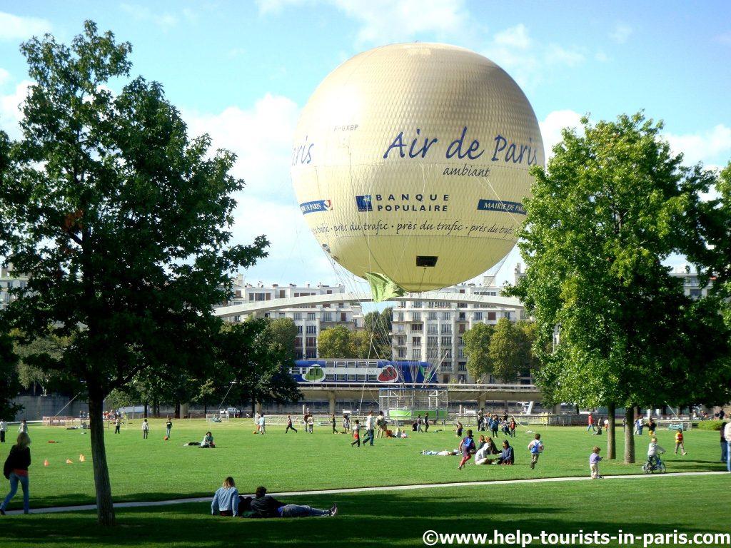 Park André Citroën in Paris