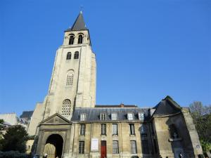 Saint Germain des Pres Kirche in Paris
