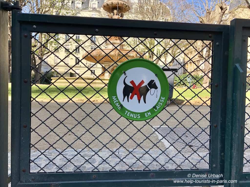 Hunde in Paris