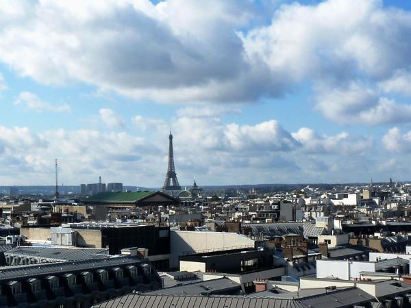 Paris Blick von den Grands Magasins