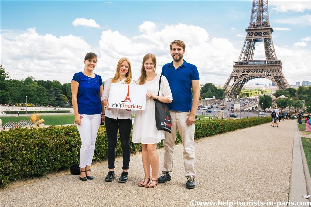 Stadtführer Team HelpTourists Paris