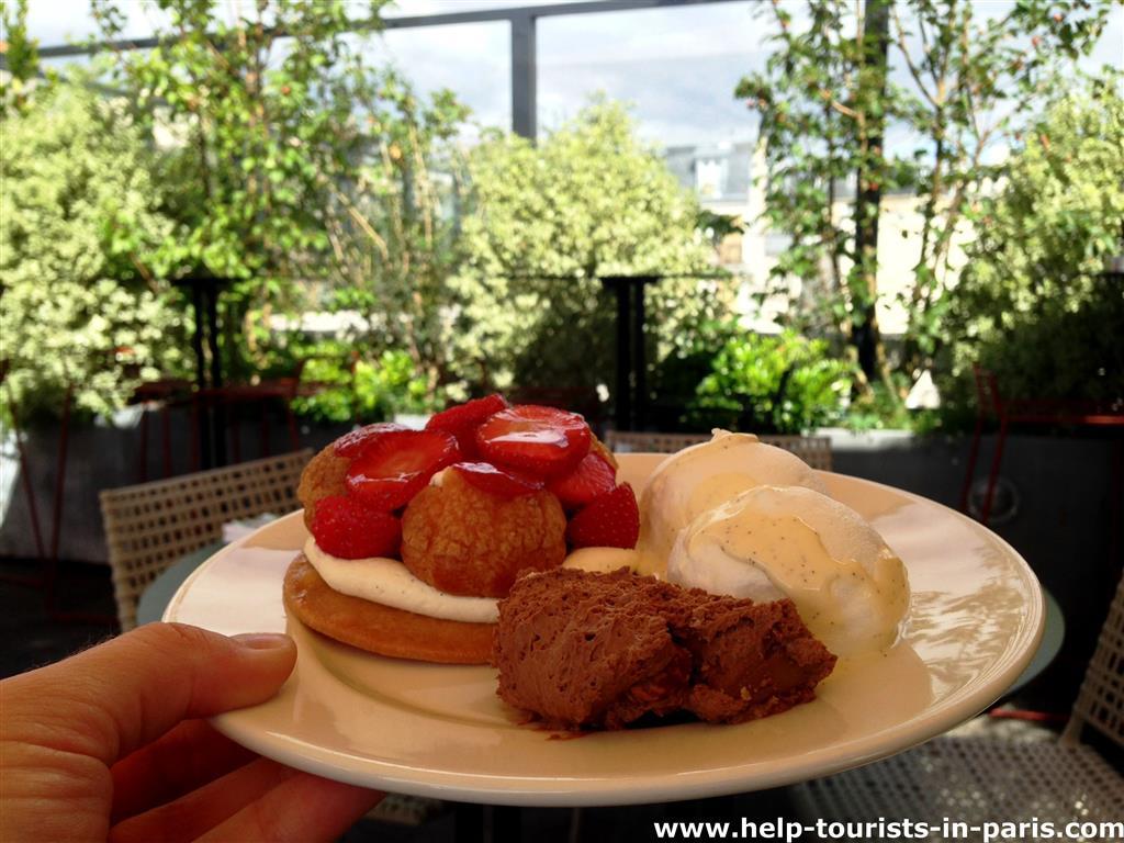 Desserts Terrass Hotel