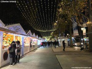 Weihnachtsmarkt Champs-Elysées Paris