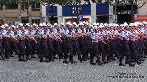 Militär Paris 14. Juli