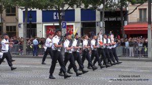 Militärparade paris 14. Juli