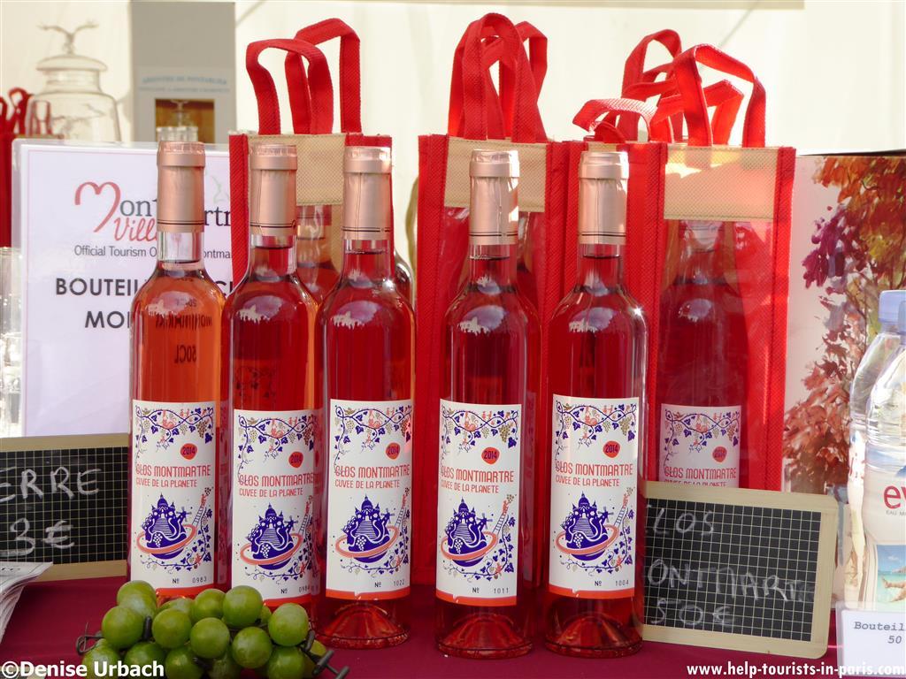 Wein aus Montmartre