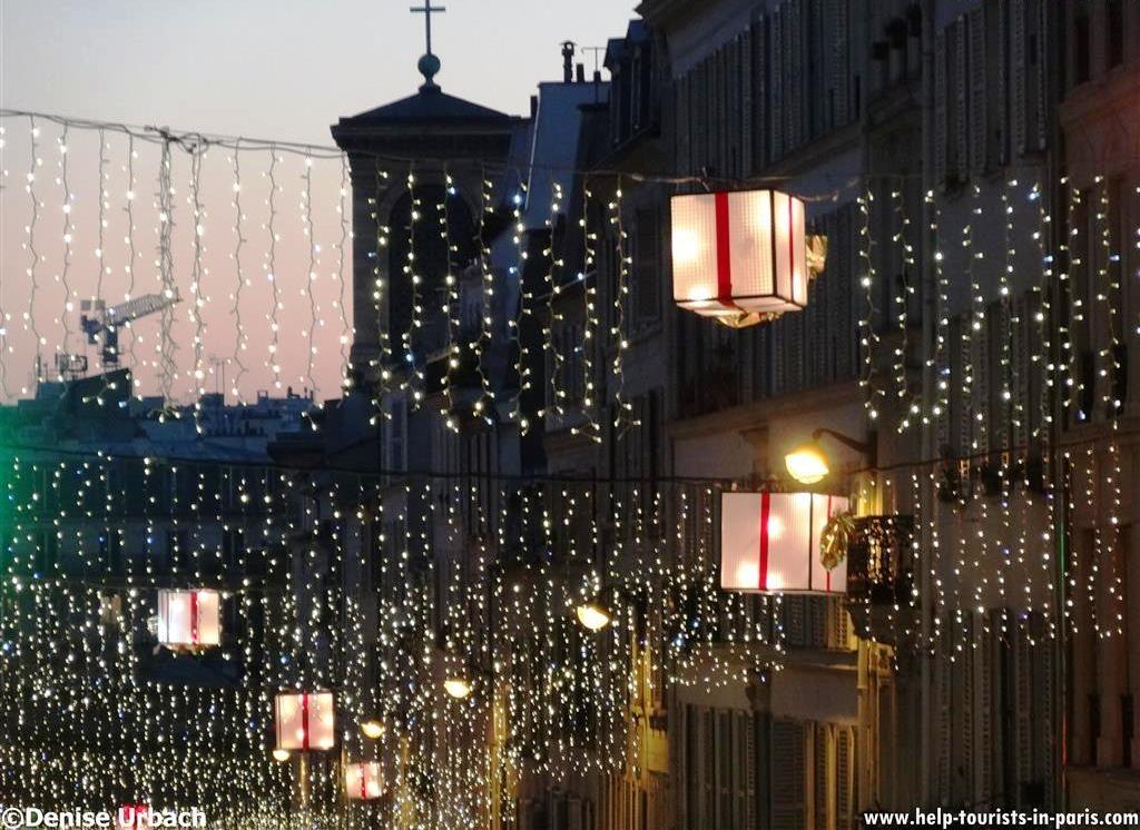 Weihnachten in Paris Dekoration