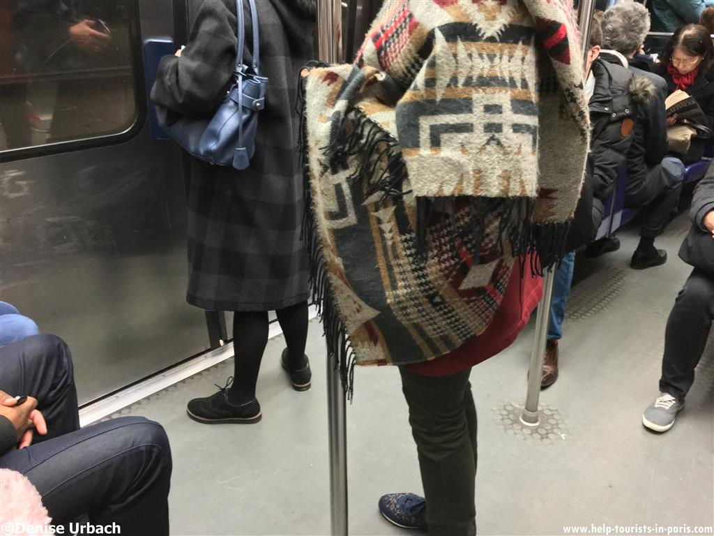 Pickpockets Metro Paris
