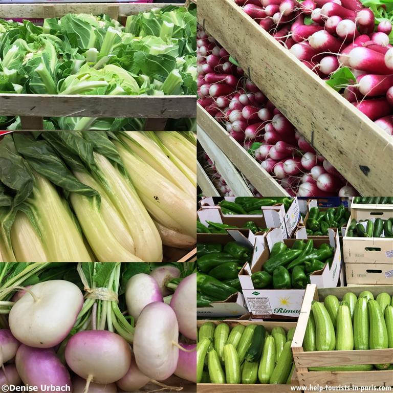 Gemüse Rungis Großmarkt