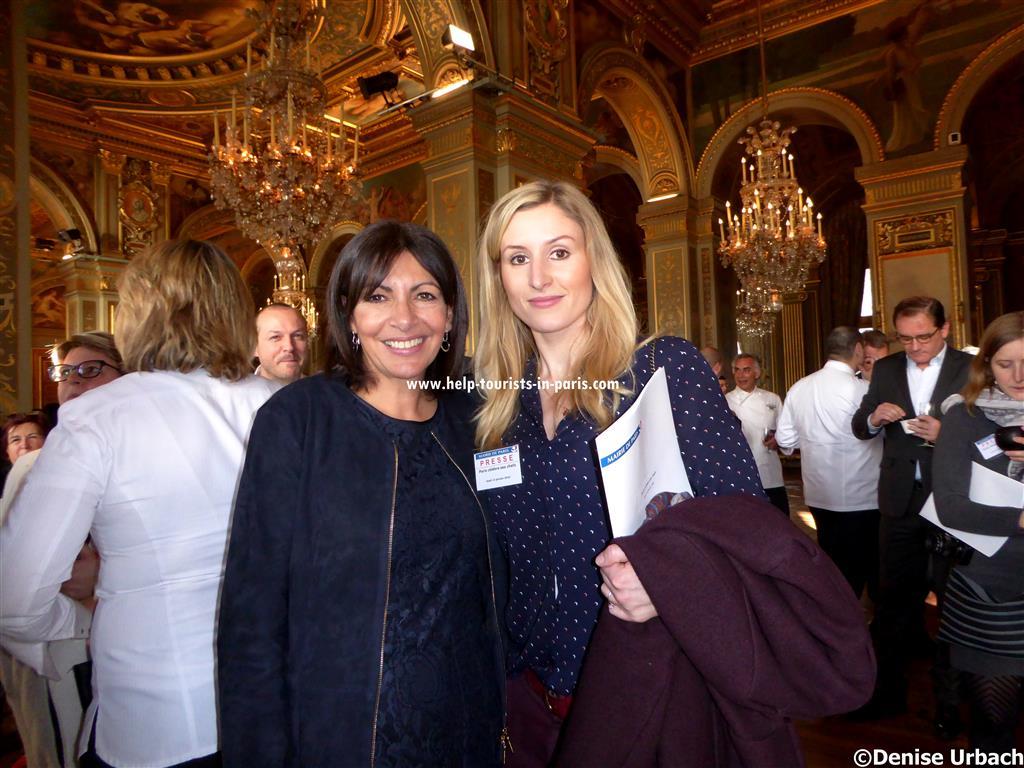 Anne Hidalgo und ich