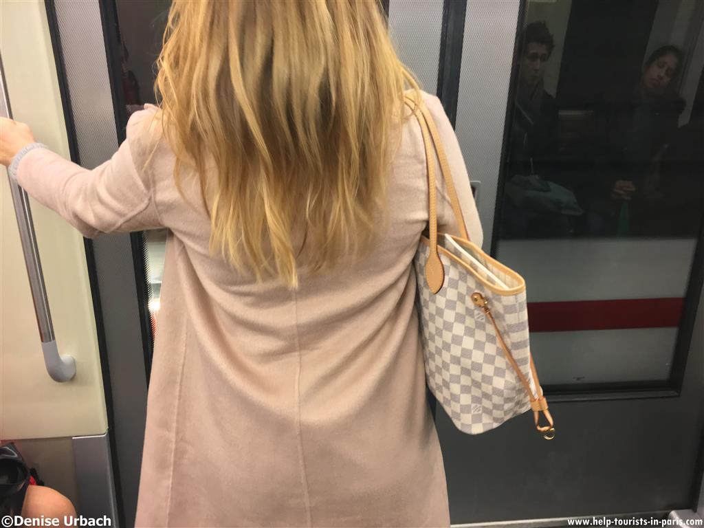 Taschendiebe Metro Paris