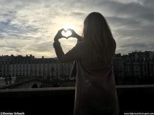 Valentinstag in Paris