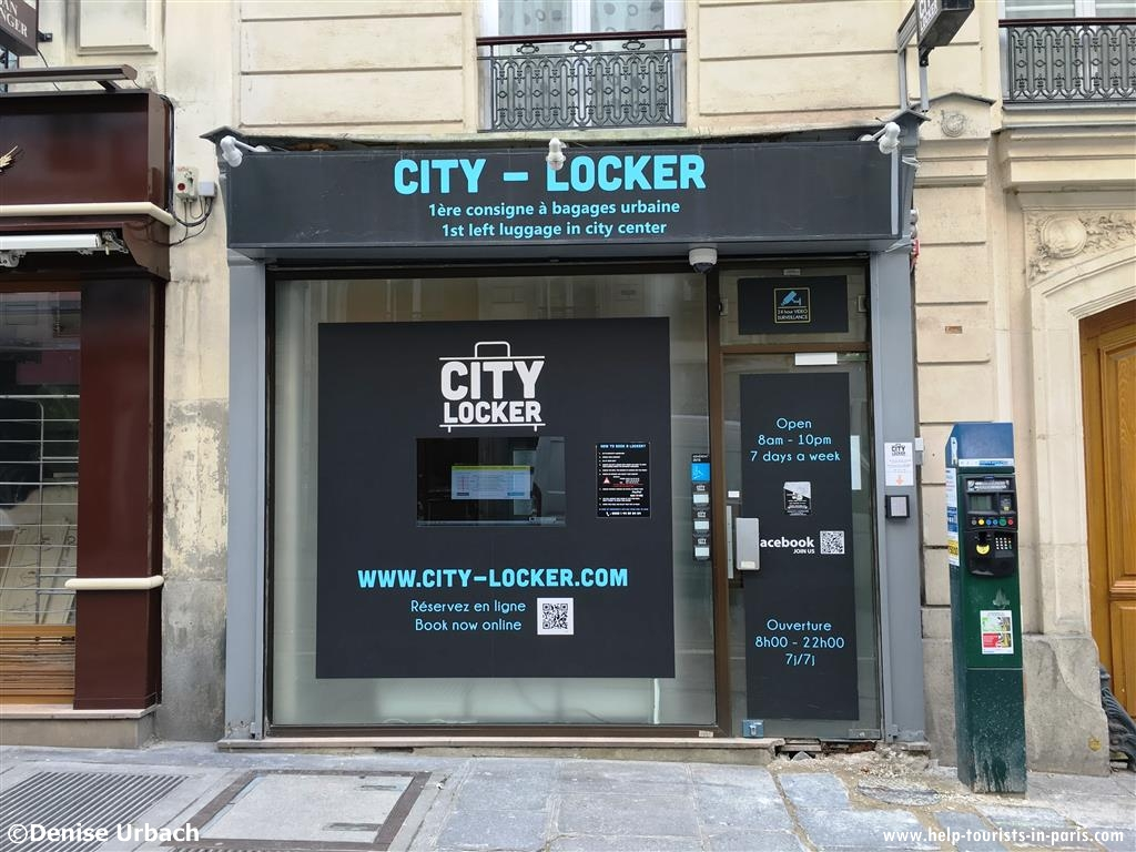City Locker Paris Gepâck