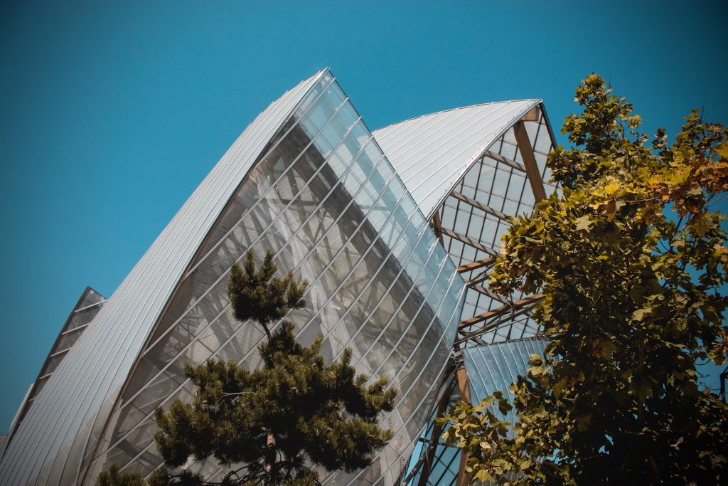Fondation Louis Vuitton Struktur