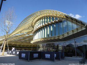 Forum les Halles in Paris Dach