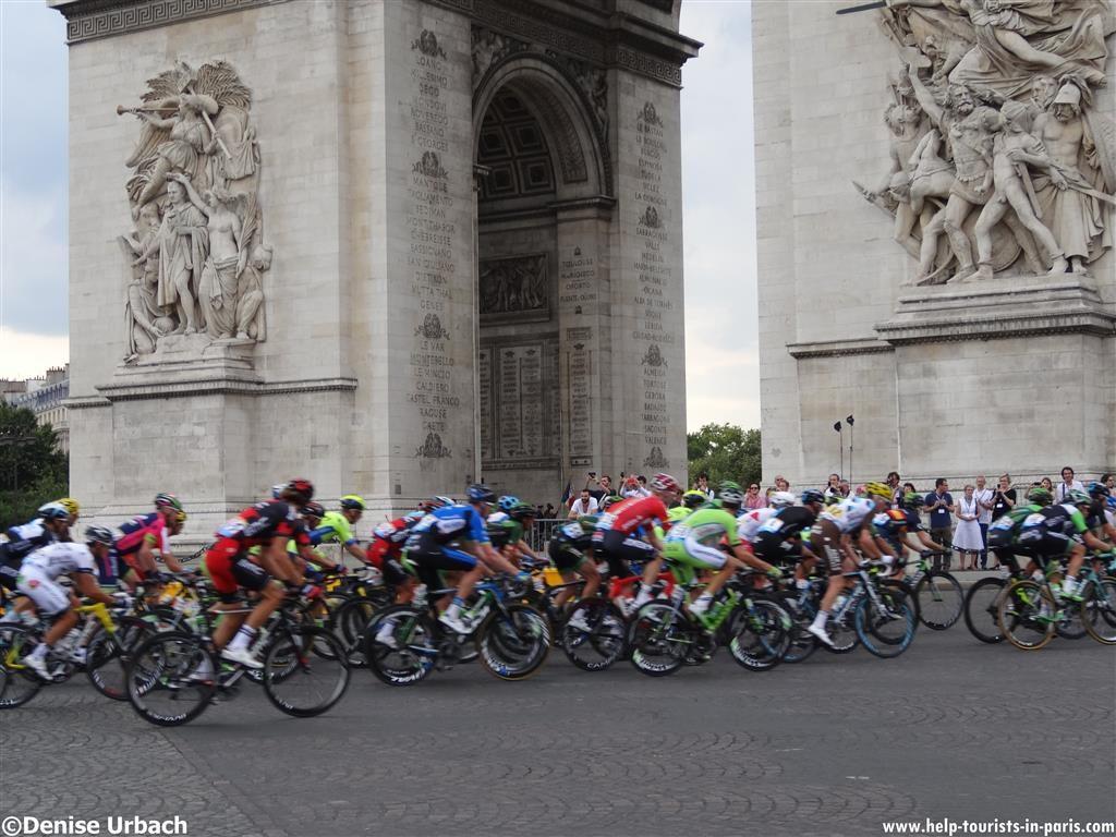 Tour de France Paris Fahrerfeld