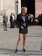 Model Pariser Fashion Week